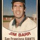 SAN FRANCISCO GIANTS JIM BARR 1977 HOSTESS # 83