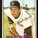 DETROIT TIGERS HANK AGUIRRE 1967 TOPPS # 263 EX MT