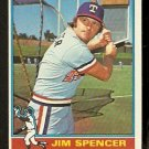 TEXAS RANGERS JIM SPENCER 1976 TOPPS # 83 VG