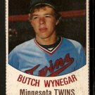 MINNESOTA TWINS BUTCH WYNEGAR 1977 HOSTESS # 84