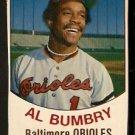 BALTIMORE ORIOLES AL BUMBRY 1977 HOSTESS # 90