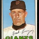 SAN FRANCISCO GIANTS FRANK LINZY 1967 TOPPS # 279 VG