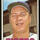 DETROIT TIGERS JOHNNY PODRES 1967 TOPPS # 284 EX/EM