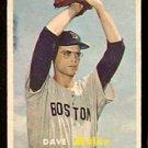 BOSTON RED SOX DAVE SISLER 1957 TOPPS # 56 VG+