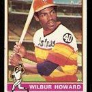 HOUSTON ASTROS WILBUR HOWARD 1976 TOPPS # 97 VG