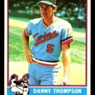 MINNESOTA TWINS DANNY THOMPSON 1976 TOPPS # 111 VG