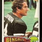 CINCINNATI BENGALS BOB JOHNSON 1975 TOPPS # 412 EM/NM