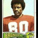 DENVER BRONCOS JERRY SIMMONS 1975 TOPPS # 432 EM+/NM