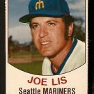 SEATTLE MARINERS JOE LIS 1977 HOSTESS # 125