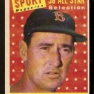 BOSTON RED SOX TED WILLIAMS ALL STAR 1958 TOPPS # 485 EM+/NM