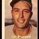 BOSTON RED SOX JIM PIERSALL 1957 TOPPS # 75 EX/EM