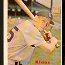 BOSTON RED SOX BILLY KLAUS 1957 TOPPS # 292 EX