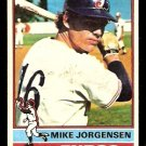 MONTREAL EXPOS MIKE JORGENSEN 1976 TOPPS # 117 VG