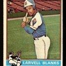 ATLANTA BRAVES LARVELL BLANKS 1976 TOPPS # 127 VG