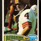WASHINGTON REDSKINS MIKE BRAGG 1975 TOPPS # 506 EX/EM