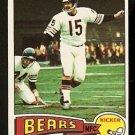 CHICAGO BEARS MIRRO RODER 1975 TOPPS # 508 NR MT