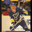 ST LOUIS BLUES BRETT HULL 1990 PRO SET # 263