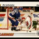 NEW YORK ISLANDERS PAT LaFONTAINE 1991 UPPER DECK # 253