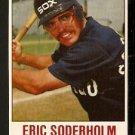 CHICAGO WHITE SOX ERIC SODERHOLM 1978 HOSTESS # 20