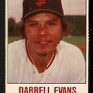 SAN FRANCISCO GIANTS DARRELL EVANS 1978 HOSTESS # 54