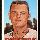 LOS ANGELES DODGERS BOB LEE 1967 TOPPS # 313 VG/EX