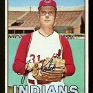 CLEVELAND INDIANS JACK KRALICK 1967 TOPPS # 316 VG