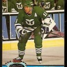 HARTFORD WHALERS KEVIN DINEEN 1991 TOPPS STADIUM CLUB # 162