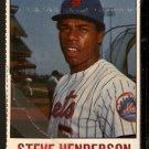 NEW YORK METS STEVE HENDERSON 1978 HOSTESS # 126