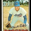 LOS ANGELES DODGERS CLAUDE OSTEEN 1967 TOPPS # 330 NR MT