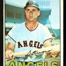 CALIFORNIA ANGELS TOM SATRIANO 1967 TOPPS # 343 EX