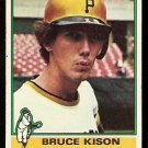 PITTSBURGH PIRATES BRUCE KISON 1976 TOPPS # 161 G/VG