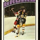 BOSTON BRUINS JEAN RATELLE 1976 TOPPS # 80 VG/EX