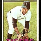 DETROIT TIGERS RAY OYLER 1967 TOPPS # 352 EX MT