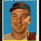 BOSTON RED SOX LOU BERBERET 1958 TOPPS # 383 NR MT