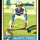 ATLANTA BRAVES MARTY PEREZ 1976 TOPPS # 177 EM/NM