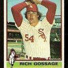CHICAGO WHITE SOX RICH GOSSAGE 1976 TOPPS # 180 EX/EM