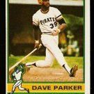 PITTSBURGH PIRATES DAVE PARKER 1976 TOPPS # 185 NR MT