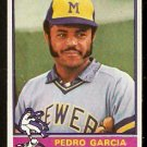 MILWAUKEE BREWERS PEDRO GARCIA 1976 TOPPS # 187