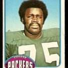 GREEN BAY PACKERS DAVE PUREIFORT 1976 TOPPS # 99 VG