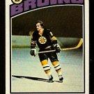 BOSTON BRUINS GREGG SHEPPARD 1976 TOPPS # 155 VG