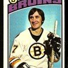 BOSTON BRUINS BOB SCHMAUTZ 1976 TOPPS # 189 VG