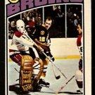 BOSTON BRUINS WAYNE CASHMAN 1976 OPC O PEE CHEE # 165 VG