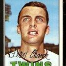 MINNESOTA TWINS DEAN CHANCE 1967 TOPPS # 380 EM/NM