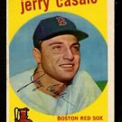 BOSTON RED SOX JERRY CASALE 1959 TOPPS # 456 EM
