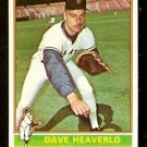 SAN FRANCISCO GIANTS DAVE HEAVERLO 1976 TOPPS # 213 EX
