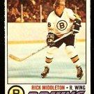 BOSTON BRUINS RICK MIDDLETON 1977 OPC O PEE CHEE # 246 NR MT