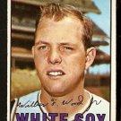 CHICAGO WHITE SOX WILBUR WOOD 1967 TOPPS # 391 VG