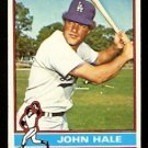 LOS ANGELES DODGERS JOHN HALE 1976 TOPPS # 228 EX/EM