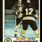 BOSTON BRUINS RICK SMITH 1977 TOPPS # 104 VG