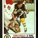 BOSTON BRUINS TERRY O'REILLY 1977 TOPPS # 220 EX/EM